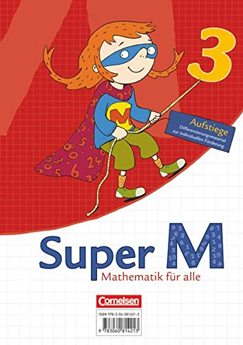 9783060814848: Super M. 3 Schuljahr. Arbeitsblätter zur Differenzierung im Block. Aufstiege. Westliche Bundesländer
