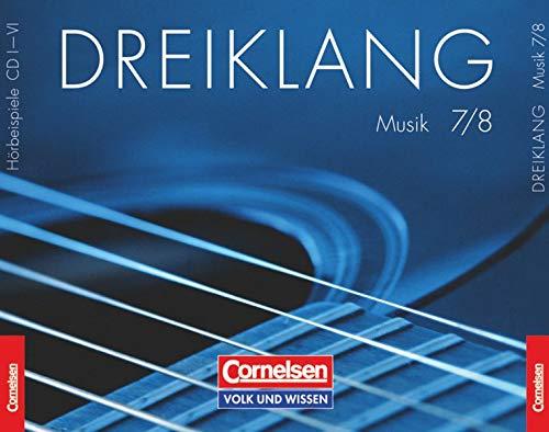 9783060815678: Dreiklang 7./8. Schuljahr. Sekundarstufe I. Hörbeispiele 1 bis 5. Östliche Bundesländer und Berlin: Musik-CDs