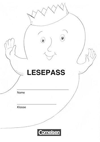 9783060818259: Lesegeister 1./2. Klasse. Lesepässe: 15 Lesepässe und 15 Klebebögen