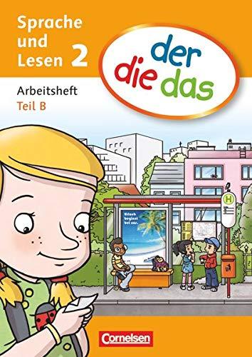 9783060819935: Der die das. Sprache und lesen 2. Arbeitsheft. Vol. A-B. Per la Scuola elementare
