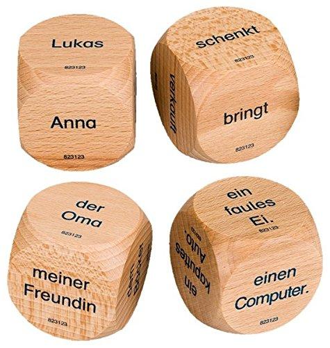 9783060823123: Deutsch plus - Lehrmittel Grundschule - Würfelspiele: 1./2. Schuljahr - Satzbauwürfel: 4 Stück