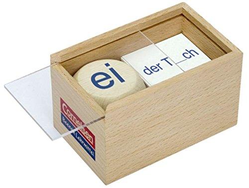 9783060823345: Deutsch plus - Lehrmittel Grundschule - Würfelspiele: 3.-5. Schuljahr - Wörter mit orthographischen Besonderheiten - ee, eh, ei, e, i, ie: Würfelspiel. Holzbox mit Holzwürfel und 60 Karten