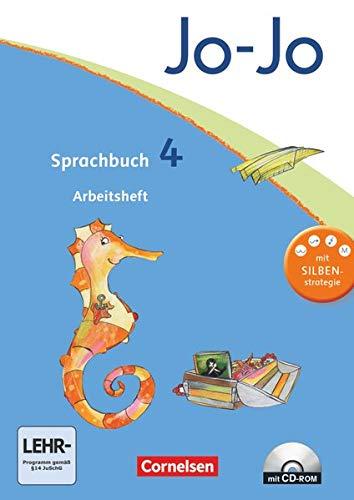 9783060826100: Jo-Jo Sprachbuch. Allgemeine Ausgabe 4. Schuljahr Arbeitsheft