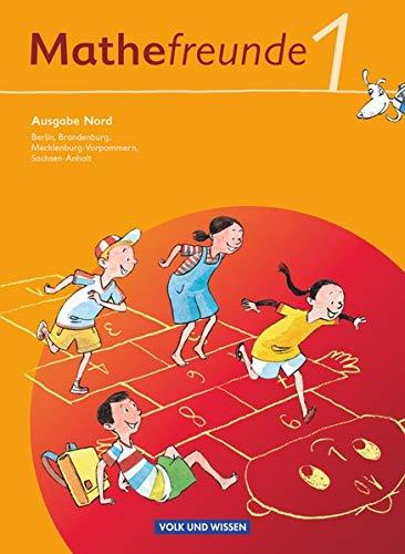 9783060826391: Mathefreunde 1. Schuljahr. Nord. Schülerbuch mit Kartonbeilagen. Berlin, Brandenburg, Mecklenburg-Vorpommern, Sachsen-Anhalt