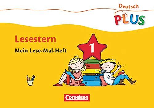 9783060826605: Deutsch plus Grundschule. Lese-Mal-Hefte. Lesestern. Arbeitsheft 1