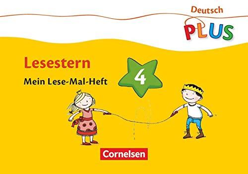 9783060826636: Deutsch plus. Grundschule. Lese-Mal-Hefte. Lesestern. Arbeitsheft 4