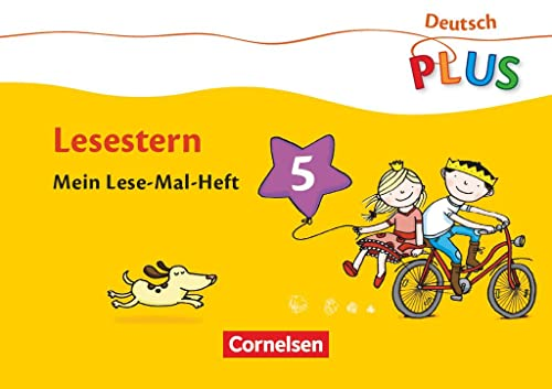 9783060826643: Deutsch plus - Grundschule - Lese-Mal-Hefte: Deutsch PLUS, Grundschule, H.5 : Lesestern, Mein Lese-Mal-Heft