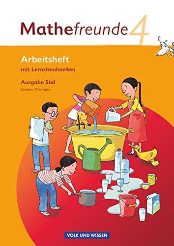 9783060826797: Mathefreunde 4. Schuljahr. Arbeitsheft. Süd: Sachsen, Thüringen