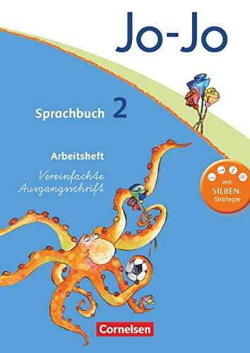 9783060827039: Jo-Jo Sprachbuch - Aktuelle allgemeine Ausgabe. 2. Schuljahr - Arbeitsheft in Vereinfachter Ausgangsschrift: Mit Lernstandsseiten