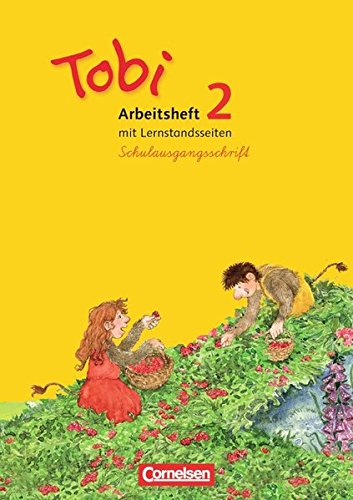 9783060827176: Tobi Lese-Sprach-Buch 2. Schuljahr. Arbeitsheft in Schulausgangsschrift: Mit Lernstandsseiten
