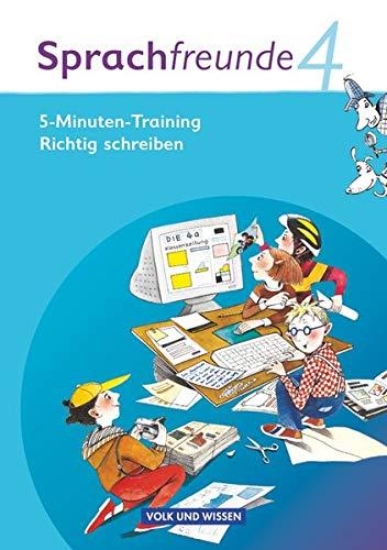 9783060827893: Sprachfreunde 4. Schuljahr. 5-Minuten Training