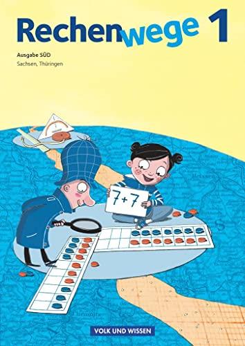 Rechenwege 1. Ausgabe Süd. Sachsen, Thüringen. Schülerbuch mit Mat. (Paperback) - Mandy Fuchs, Wolfgang Grohmann, Friedhelm Käpnick,