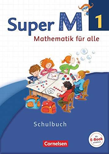 9783060830220: Super M 1. Schuljahr. Schülerbuch mit Kartonbeilagen. Westliche Bundesländer