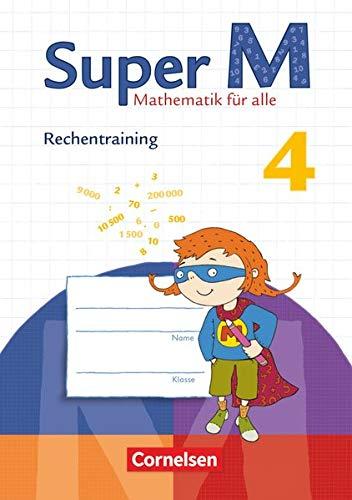 9783060831654: Super M 4. Schuljahr. Arbeitsheft Rechentraining