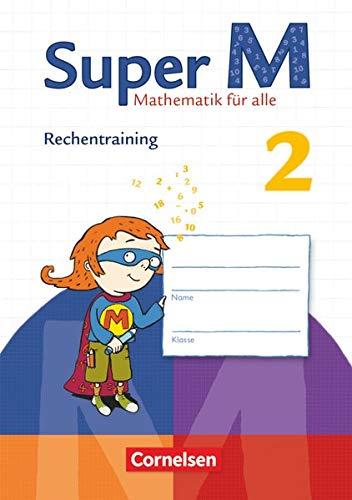 9783060831661: Super M 2. Schuljahr Rechentraining. Arbeitsheft