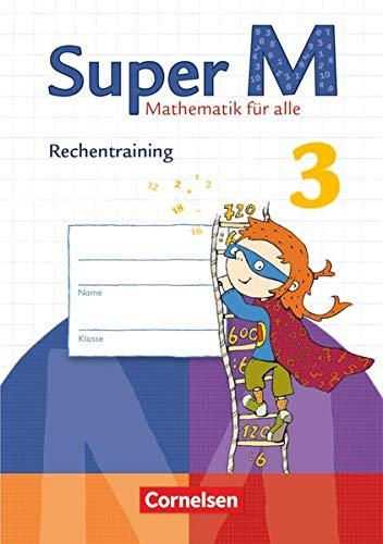 9783060831678: Super M 3. Schuljahr. Rechentraining. Arbeitsheft: Mathematik für alle