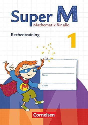9783060831685: Super M 1. Schuljahr. Rechentraining Arbeitsheft: Zu allen Ausgaben