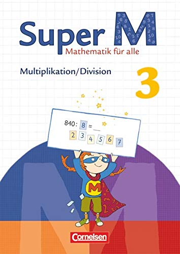 9783060831722: Super M 3. Schuljahr. Themenheft Multiplikation/Division