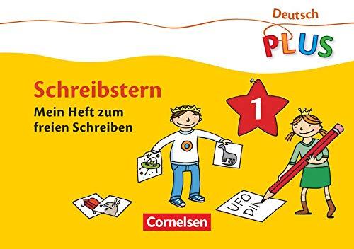 9783060832125: Deutsch plus Grundschule. Lese-Mal-Hefte Schreibstern. Arbeitsheft 1