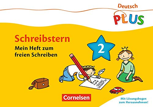 9783060832132: Deutsch plus Grundschule. Lese-Mal-Hefte Schreibstern. Arbeitsheft 2