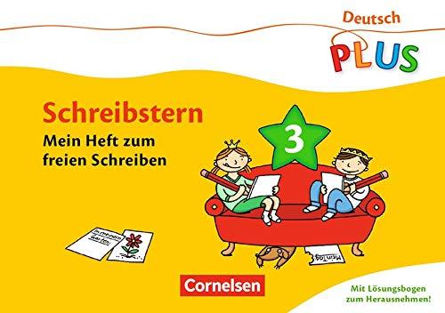 9783060832149: Deutsch plus Grundschule. Lese-Mal-Hefte Schreibstern. Arbeitsheft 3