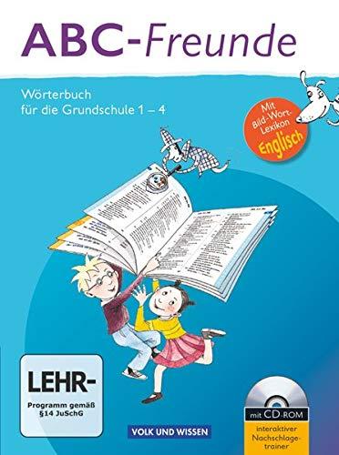 9783060832163: ABC-Freunde: Wörterbuch mit Bild-Wort-Lexikon Englisch und CD-ROM. Östliche Bundesländer