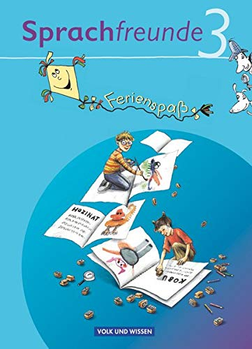 9783060832774: Sprachfreunde 3. Schuljahr. Ferienspaß mit Freunden 3. Arbeitsheft. Ausgabe Nord/Süd