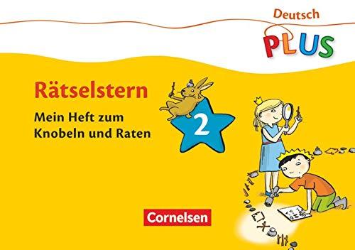 9783060834327: Deutsch plus Grundschule Lese-Mal-Hefte: Rätselstern: Mein Heft zum Knobeln und Raten. Arbeitsheft 2