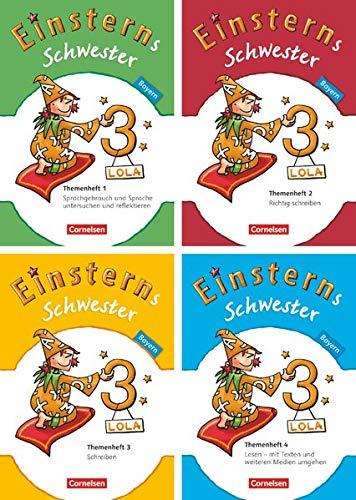 9783060835379: Einsterns Schwester 3. Jahrgangsstufe. 4 Themenhefte im Paket Bayern: Sprache und Lesen
