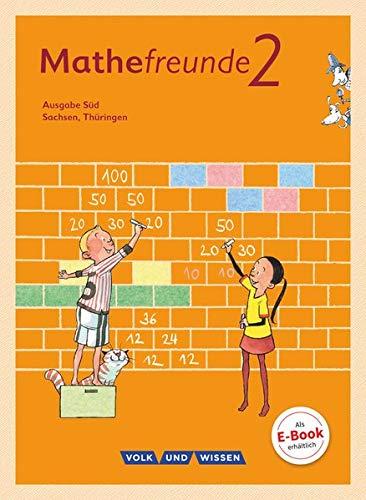 9783060837250: Mathefreunde 2. Schuljahr. Schülerbuch mit Kartonbeilagen Süd