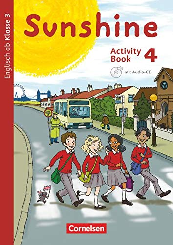 9783060837670: Sunshine 4. Schuljahr. Activity Book mit Audio-CD und Minibildkarten