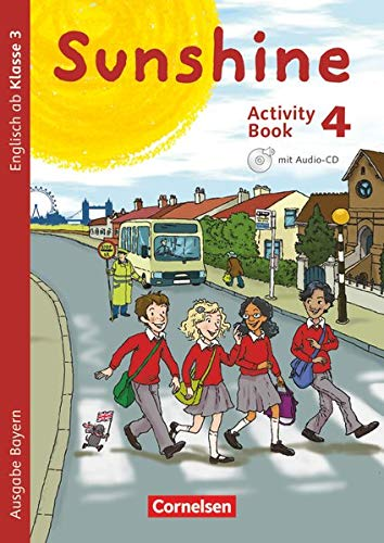Sunshine 4. Jahrgangsstufe. Activity Book mit Audio-CD,: Tanja Beattie, Stefanie