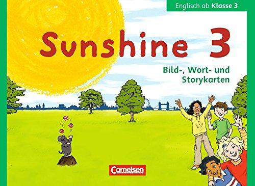 9783060838615: Sunshine 3. Schuljahr. Allgemeine Ausgabe Bayern- Bild-, Wort- und Storykarten