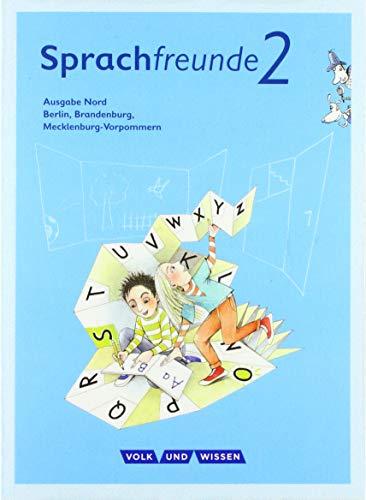 9783060838851: Sprachfreunde 2. Schuljahr.  Sprachbuch mit Grammatiktafel. Ausgabe Nord