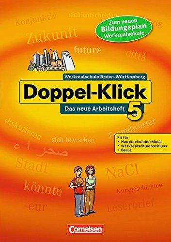 9783061000769: Doppel-Klick 05. Das neue Arbeitsheft. S�dwest: Mit L�sungen (Werkrealschule)