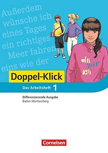 9783061000875: Doppel-Klick 01: 5. Schuljahr.  Arbeitsheft mit Lösungen. Differenzierende Ausgabe Baden-Württemberg
