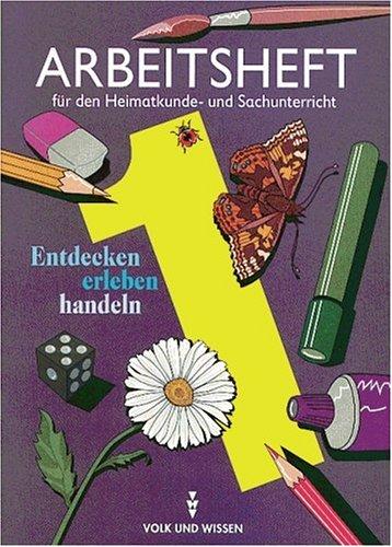 9783061001162: Heimatkunde- und Sachunterricht. Arbeitsheft 1 (RSR).
