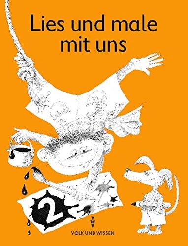 9783061002497: Lies und male mit uns! Heft 2, Klasse 2: Lese-Malheft