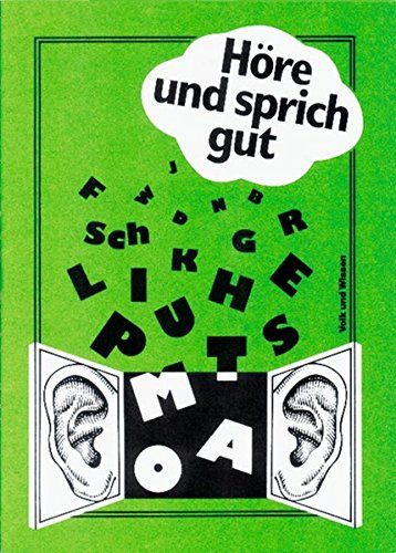 9783061091781: Höre und sprich gut.