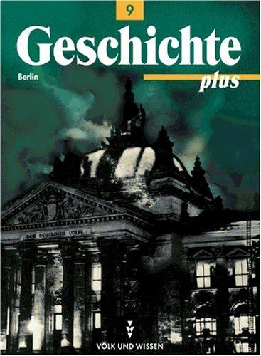 9783061109226: Geschichte plus 9. Lehrbuch. Berlin.