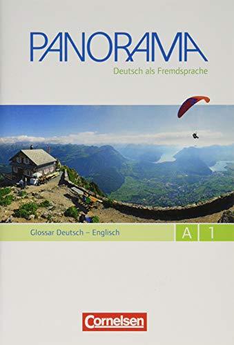 9783061204754: Panorama A1: Gesamtband. Glossar Deutsch-Englisch