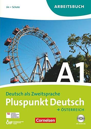9783061205300: Pluspunkt Deutsch A1: Gesamtband. Arbeitsbuch mit Lösungen und CD. Österreich
