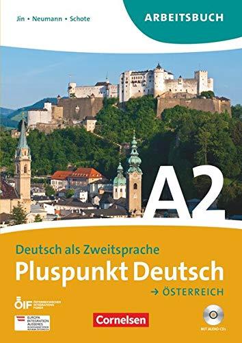 9783061205355: Pluspunkt Deutsch A2: Gesamtband. Arbeitsbuch mit Lösungen und CDs. Österreich