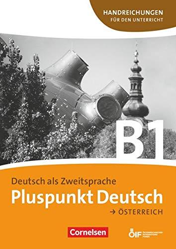 9783061205430: Pluspunkt Deutsch B1: Gesamtband. Handreichungen für den Unterricht mit Kopiervorlagen. Österreich