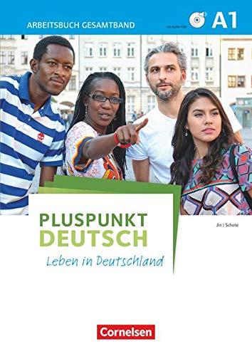 9783061205553: Pluspunkt Deutsch - Leben in Deutschland A1: Gesamtband. Arbeitsbuch mit DVD-ROM und Lösungsbeileger