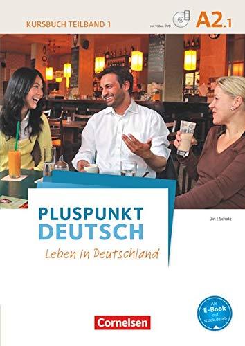 9783061205737: Pluspunkt Deutsch A2: Teilband 1. Kursbuch mit Video-DVD