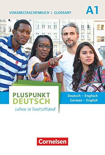 9783061206123: Pluspunkt Deutsch A1: Gesamtband. Vokabeltaschenbuch Deutsch - Englisch: Leben in Deutschland