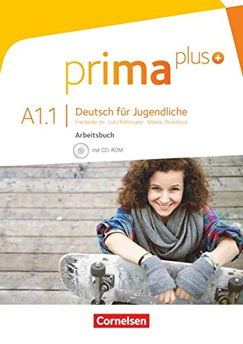 9783061206338: Prima Plus A1.1 Ejercicios (Incluye CD)