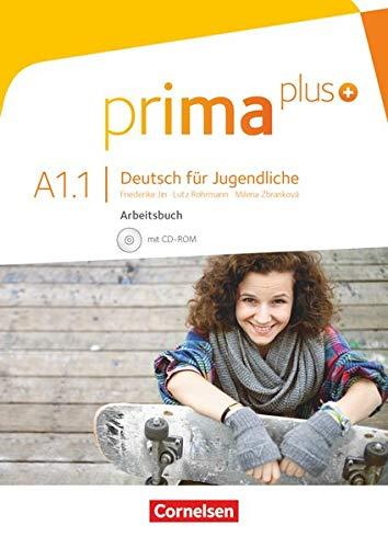 9783061206338: Prima Plus: Arbeitsbuch A1.1 Mit CD-ROM