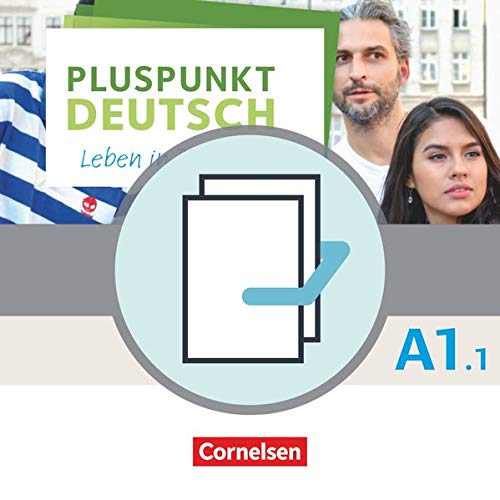 9783061207281: Pluspunkt Deutsch - Leben in Deutschland A1: Teilband 01. Arbeitsbuch und Kursbuch: 120563-8 und 120564-5 im Paket